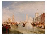 Venice  Dogana and S Giorgio Maggiore