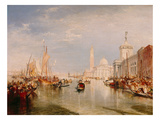 Venice  Dogana and S Giorgio Maggiore
