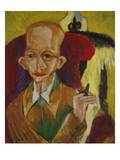 Portrait of Oskar Schlemmer