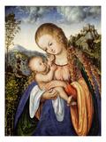 Maria Mit dem Kinde  um 1518