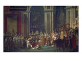 Kroenung Napoleons I Und Josephines in Notre Dame Paris Mit Papst Pius Vii