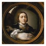 Self-Portrait in a Convex Mirror  1523/24