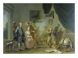 Besuch Im Maler-Atelier Vor 1767