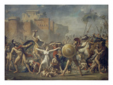 Combat Between Sabines and Romans (The Sabine Women)  1799