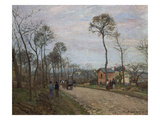 The Road of Louvecienne  1870