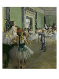 The Dancing Class  about 1873/1876