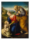The Holy Family with a Lamb  1507