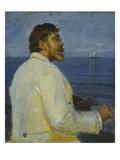 Bildnis Des Malers Peter Severin Kroyer  1907