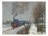 The Train in the Snow (Or: the Locomotive) 1875