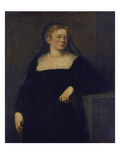 Portrait of a Lady in Mourning (Early Work)