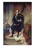 King Maximilian Ii of Bavaria as Hubertus-Knight after 1854