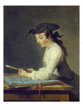 The Young Draughtsman  1737