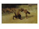 Fighting Fauns  1889