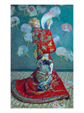 Madame Monet in a Kimono (La Japonaise)  1876