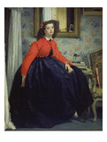 Young Lady in a Red Jacket  1864