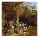Raeuberbande in Den Abruzzen (Gefangennahme Italienischer Briganten)  1830/32