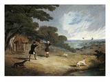 Partridge Shooting at Six Mile Bottom  1833