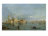 Bacino Di San Marco with View to San Giorgio Maggiore  Venice