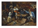 Gamblers Quarrelling  about 1664/65