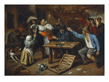 Gamblers Quarrelling  about 1664/65