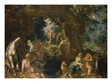 Diana and Actaeon  1607