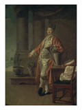 Bildnis Des Prokofi Demidow Als Gaertner  1773