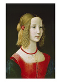 Portrait of a Young Girl Probably About 1490