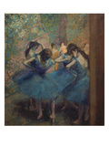 Dancers in Blue  about 1893