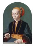 Portrait of Elisabeth Bellinghausen  1538-39