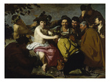 The Drinker (The Triumph of Bacchus/ Los Borrachos)  1628