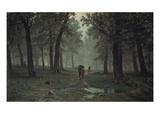 Regen Im Eichenwald  1891