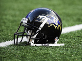 Baltimore Ravens - Aug 19  2011: Baltimore Ravens Helmet