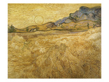 Wheatfield with Reaper  1889