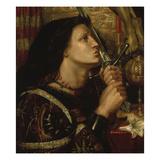 Jeanne D'Arc Kuesst Das Schwert Der Befreiung  1863