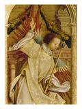 Verkuendigungsengel Detail Von Der Fluegelaussenseite des Sebastians-Altars