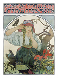 Poster &#39;P&#233;veck&#233; Sdruzeni Ucitelu Moravskych&#39; (The Moravian Teachers&#39; Choir)  1911