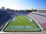 University of North Carolina: UNC: Kenan Stadium Endzone View