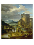 Landscape with Roman Tomb (The Morning)  1817/1820