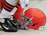 Cleveland Browns - Sept 23  2012: Cleveland Browns Helmet