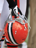 Cleveland Browns - Sept 23  2012: Cleveland Browns Helmet
