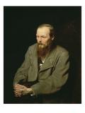 Portrait of Fyodor Dostoyevsky  1872