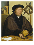 Portrait of Nikolaus Kratzer  1528