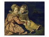 Magdalena and Jan-Baptist De Vos  the Painter's Children  about 1622