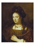 Saskia  the Wife of Rembrandt  1643
