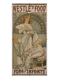 Poster: Nestlé's Food for Infants  1897