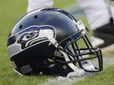 Seattle Seahawks - Aug 18  2012: Seattle Seahawks Helmet