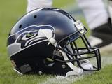 Seattle Seahawks - Aug 18  2012: Seattle Seahawks Helmet