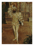 The Singer D'Andrade as Don Juan (Or: the Champagne Song)  1902