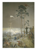 The Slav Epic: the Meeting at Krizky 1440  1916