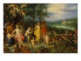 Fruehlings-Allegorie  1616 (Zusammen Mit Hendrick Van Balen)